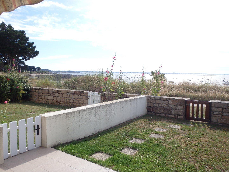 Appartement à louer à Damgan Appartement duplex vue mer, accès plage de Kervoyal