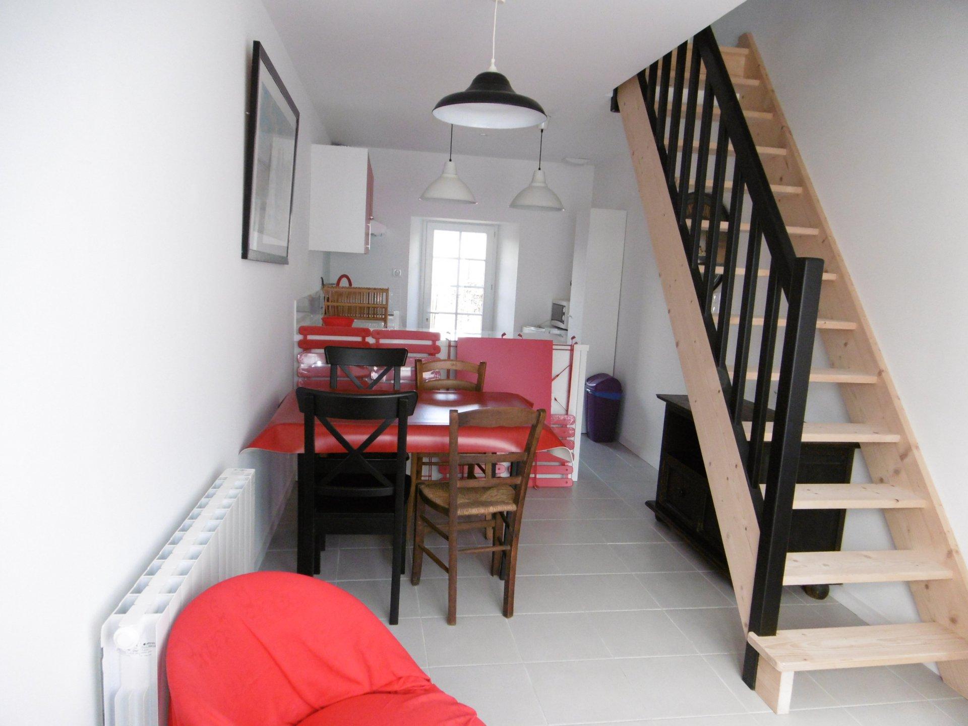 Maison à louer à Damgan Maison pour 4 personnes, située dans le centre de Damgan