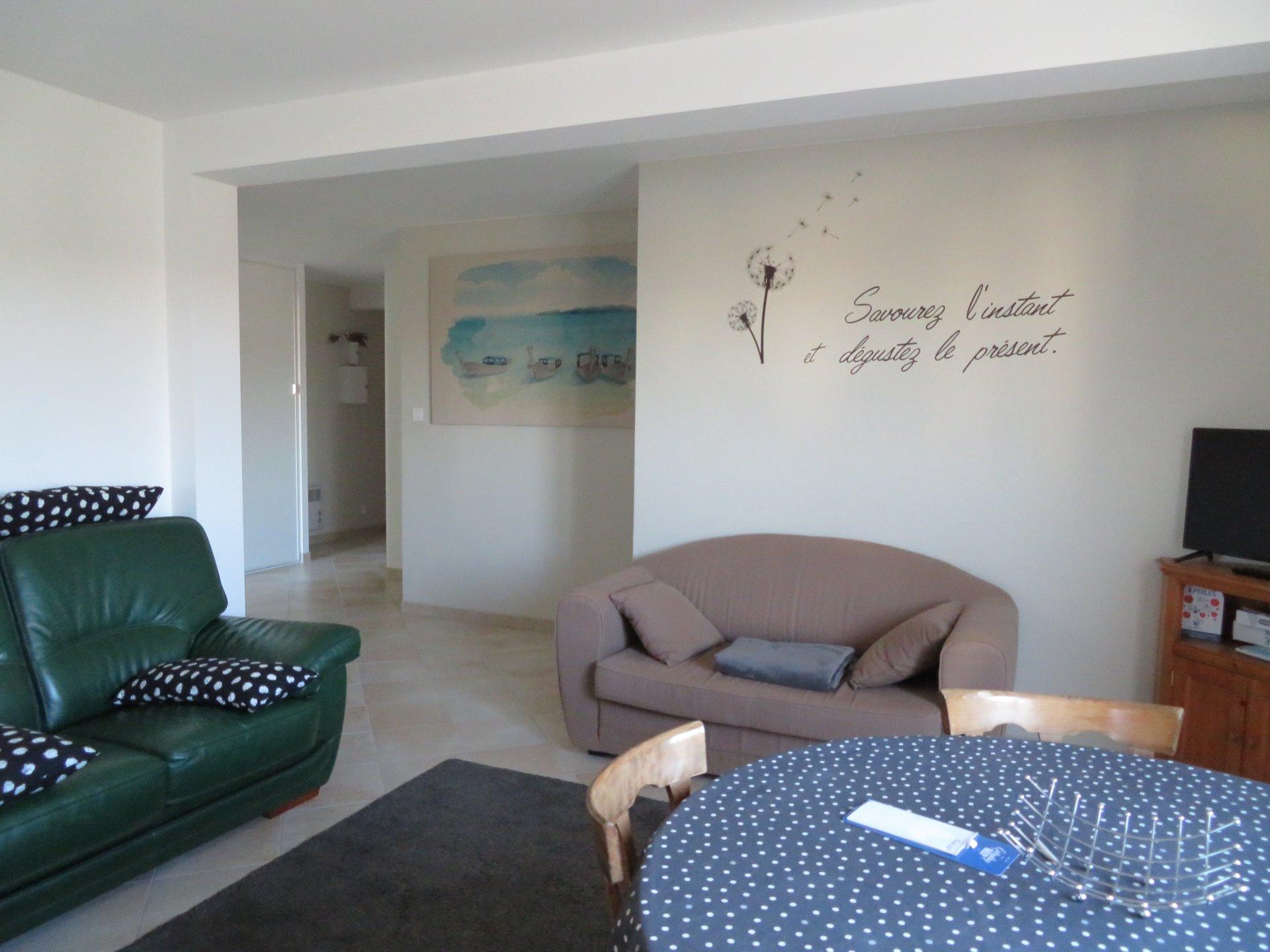 Appartement à louer à Damgan Appartement offrant une vue sur la mer et rivière de Pénerf