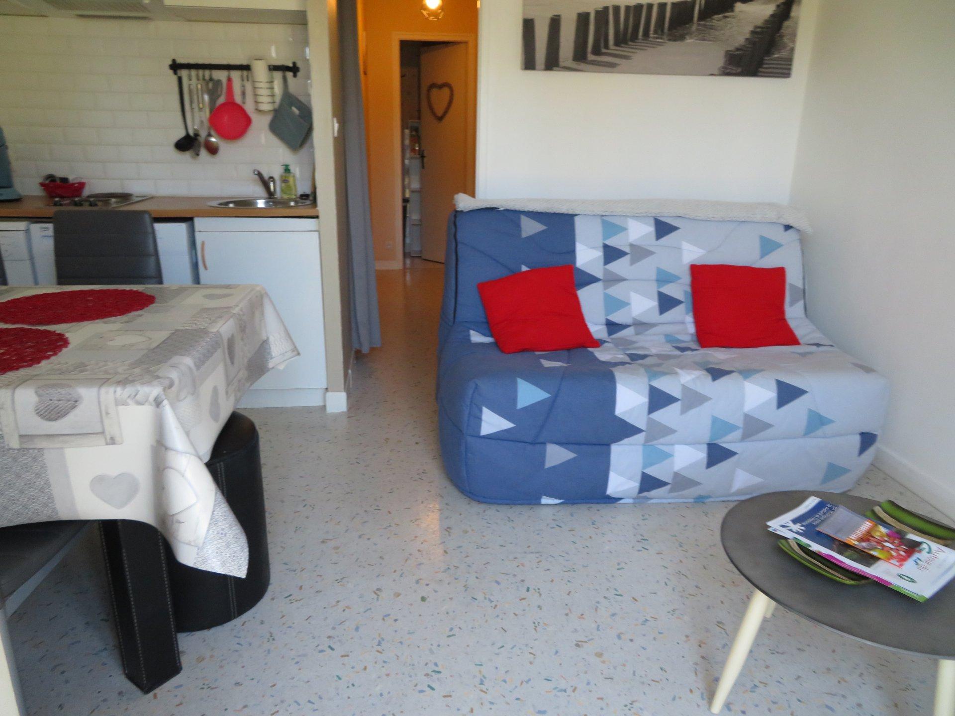 Appartement à louer à Damgan Studio à 500m de la mer