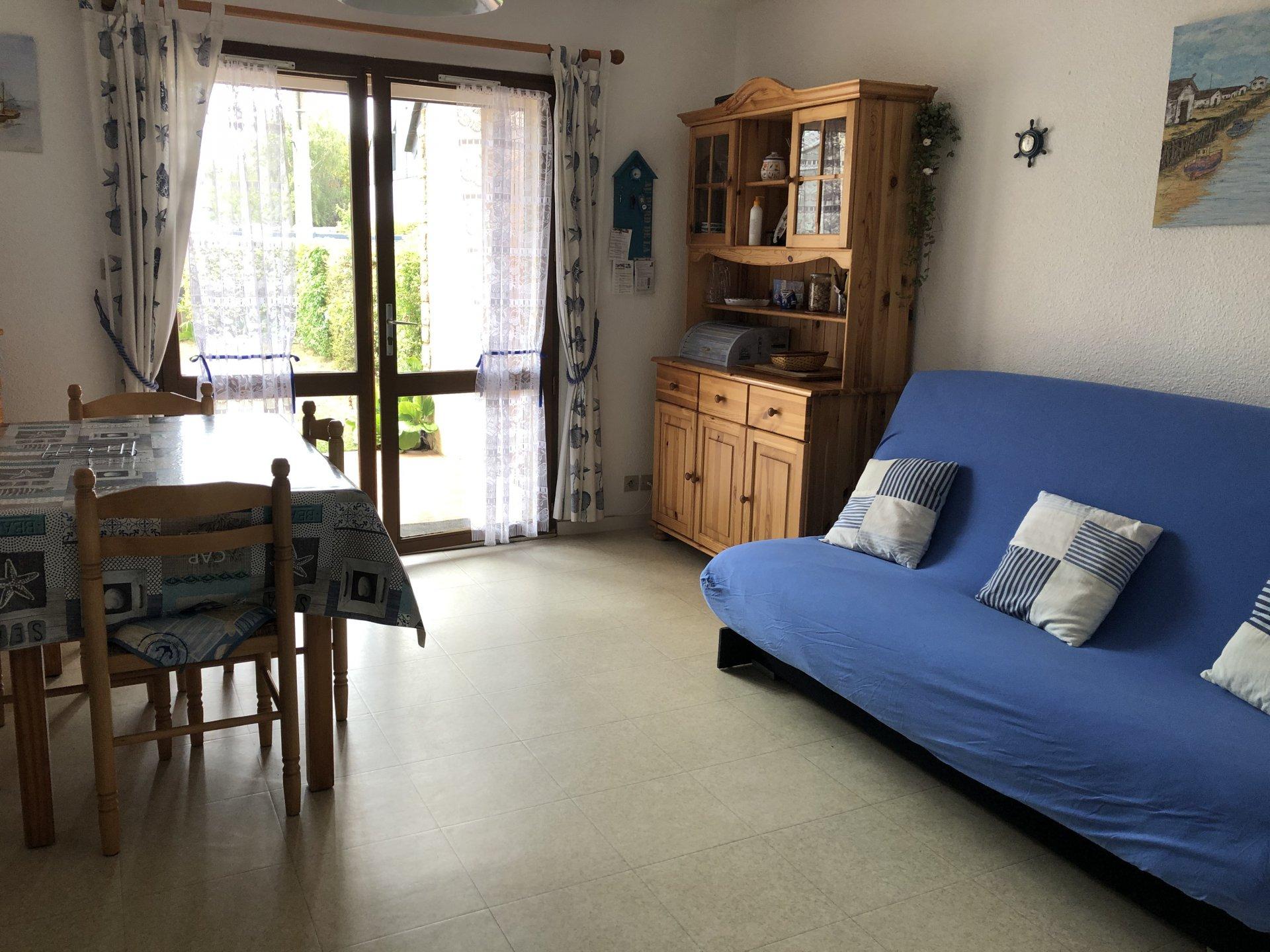 Appartement à louer à Damgan Terrasse et jardinet, plage à pied pour cette location vacances