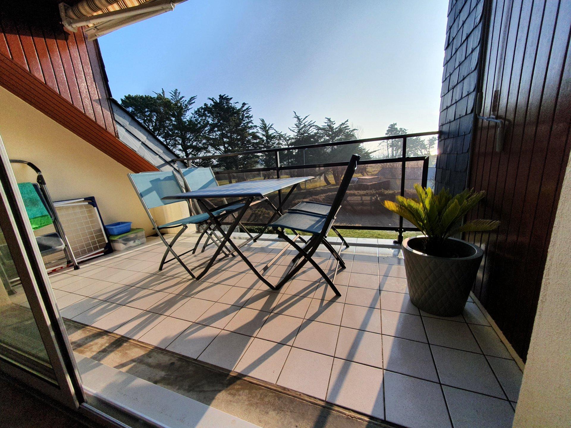 Appartement à louer à Damgan Appartement T3 avec vue sur mer