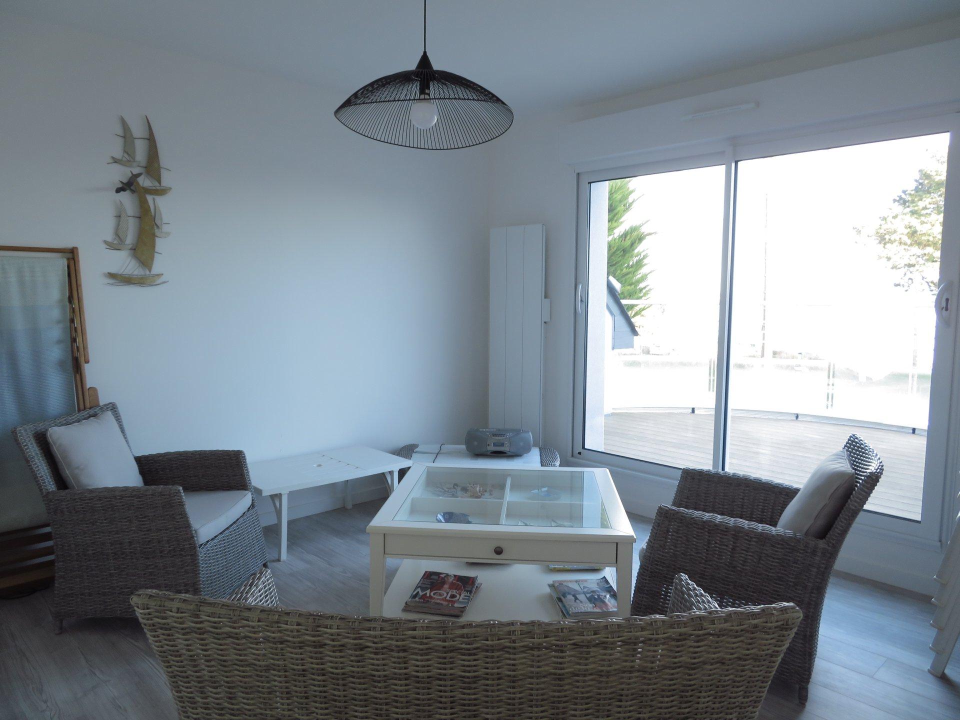 Maison à louer à Damgan Maison pour 6 personnes vue sur la petite plage de Kervoyal