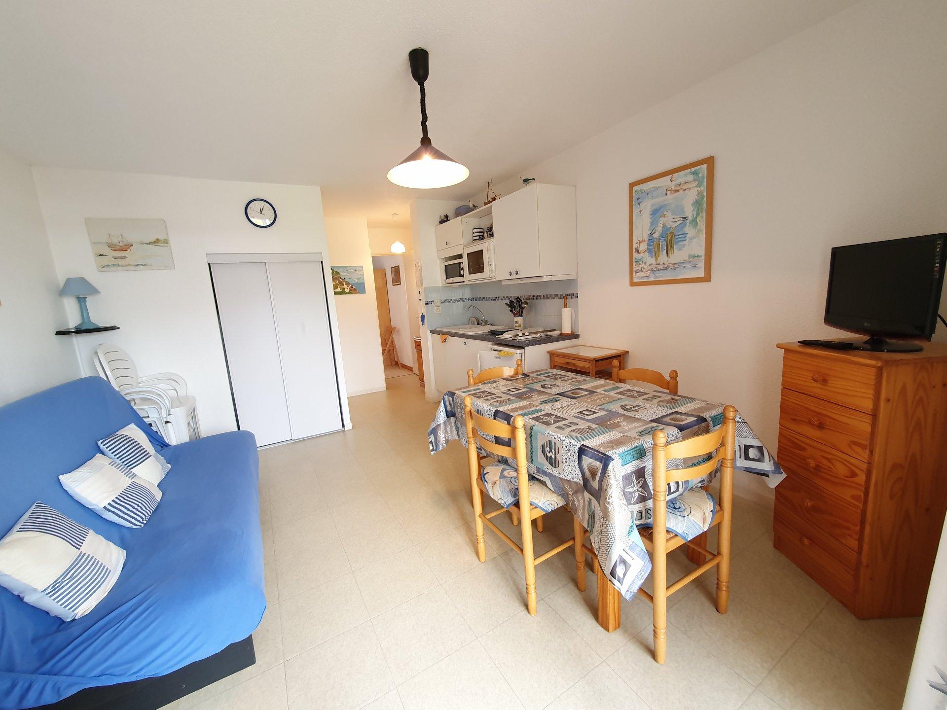 Appartement à louer à Damgan Appartement T2 rez-de-jardin