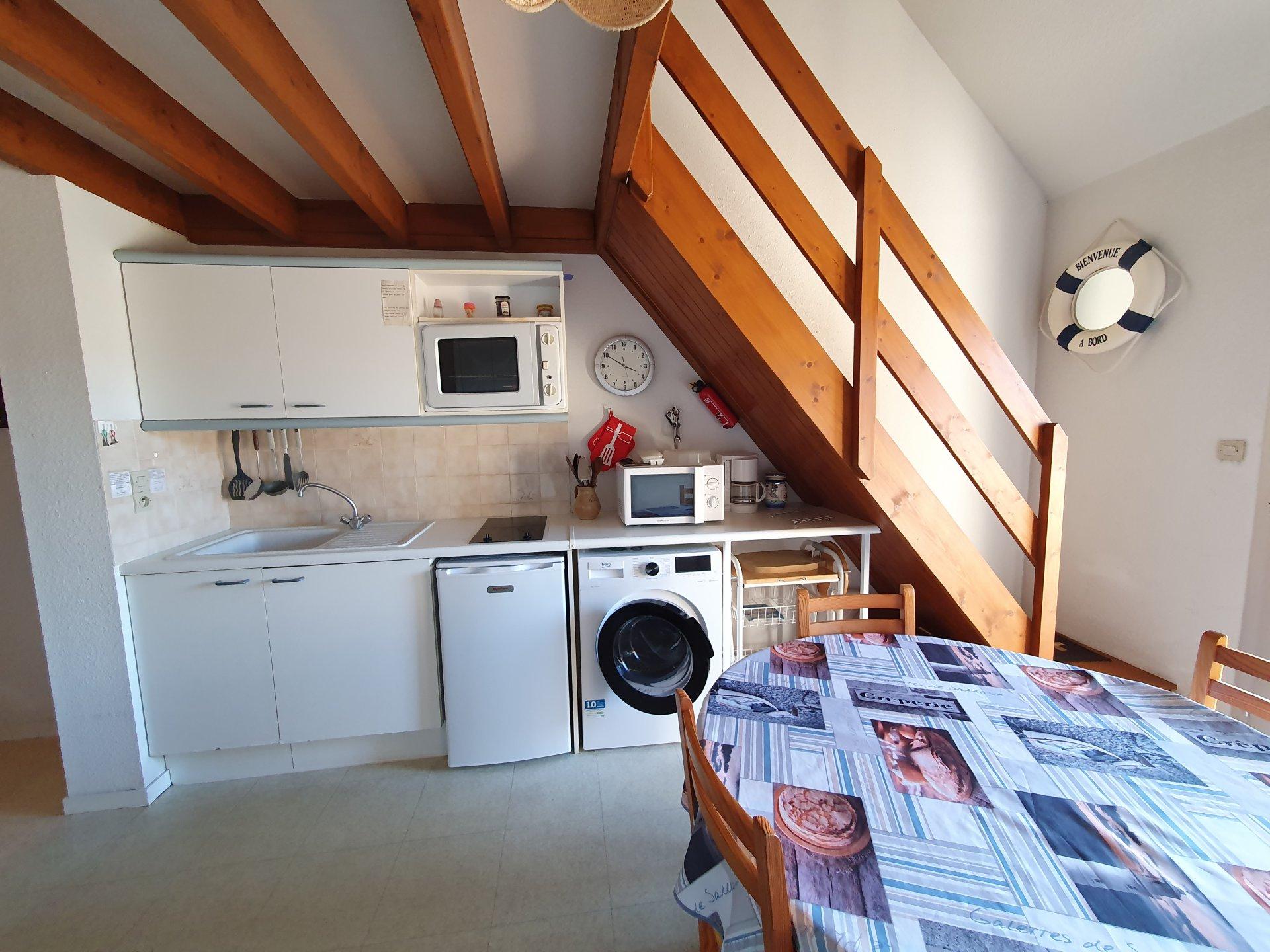 Appartement à louer à Damgan Appartement T3 situé à 300m de la plage et du centre