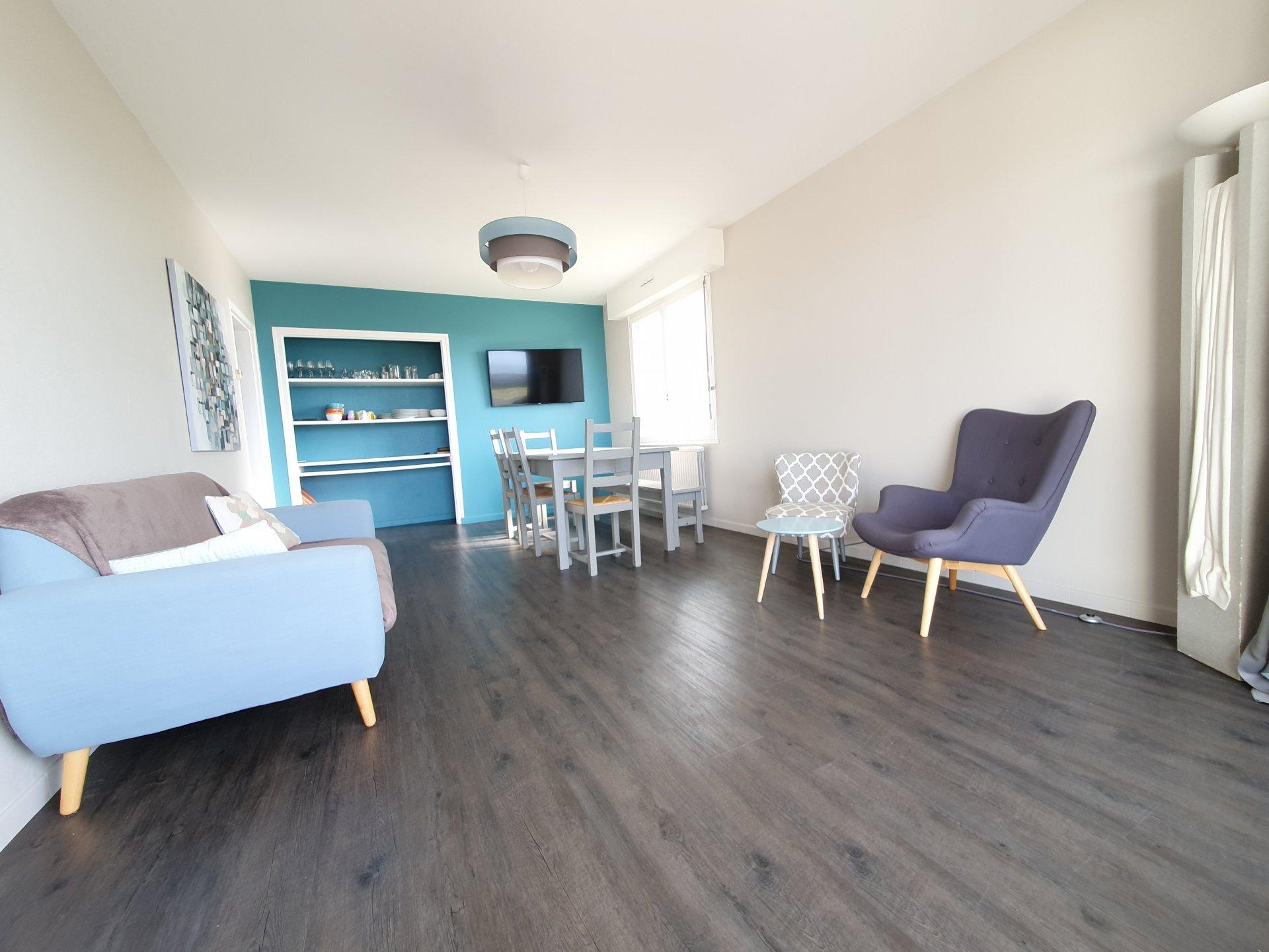 Appartement à louer à Damgan Appartement T3 situé en front de mer