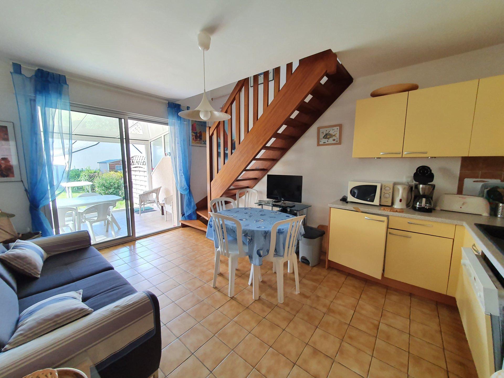 Maison à louer à Damgan  Kervoyal - Maison située à 150m de la mer